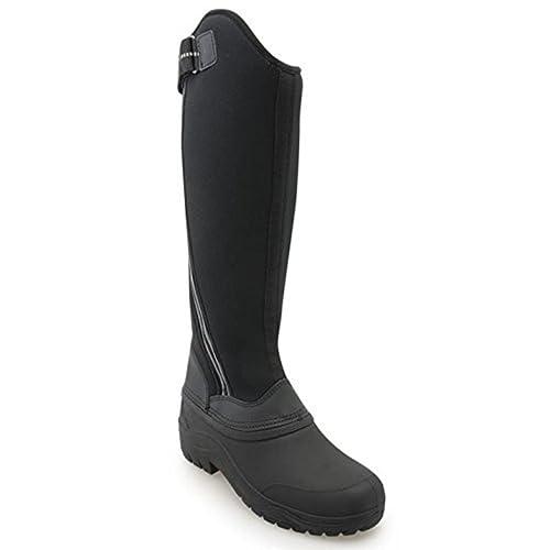 Harry Hall para mujer Frost de invierno y montar a caballo Country protectores de calcetines para, color negro, talla 39: Amazon.es: Zapatos y complementos