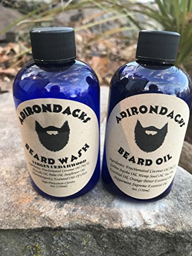 Adirondacks kit Beard oil + Beard Wash by Adirondacks Beard Oil