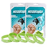 All Natural Mosquito Repellent Bracelets - Value Pack Twelve (12) Pack (2 ...