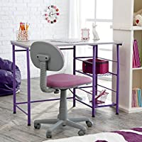 Study Zone II Desk & Chair - Purple