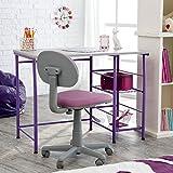 Study Zone II Desk & Chair - Purple