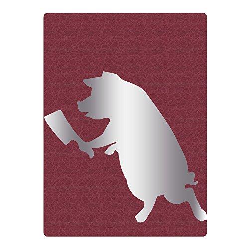 Hqexm PIG WITH BUTCHER KNIFE Stic Platinum StyleBig Boy 25.6