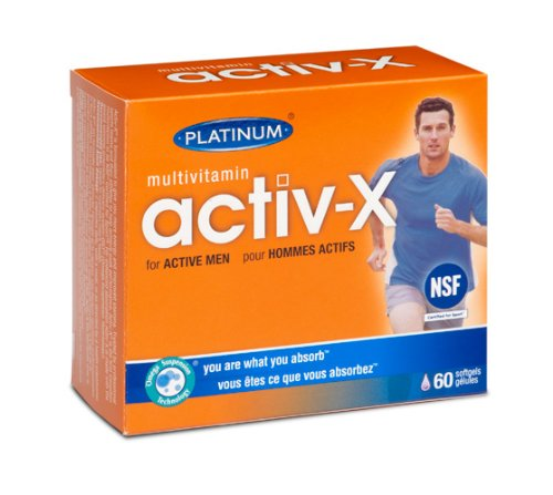Platinum - Active-X Multi for Men 120 -