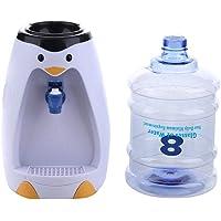 Astolily - Dispensador de agua con forma de pingüino (2 L, tamaño pequeño), color negro
