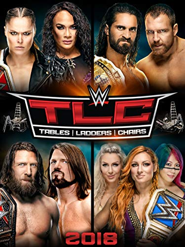 WWE: TLC: Tables, Ladders and Chairs 2018 for sale  Delivered anywhere in USA