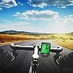 IREGRO-Computer-da-Bicicletta-Grande-Display-Digitale-LCD-Contachilometri-Bici-Impermeabile-Computer-per-Bici-18-Funzioni-per-Riconoscere-la-velocit-e-la-Distanza-Attuali-in-Tempo-Reale
