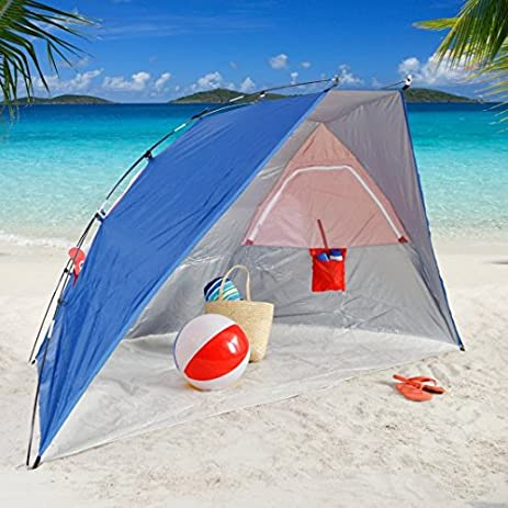 Quick Easy Setup Canopy. Waterproof Aluminum Frame Tent Beach Shelter. Best Uv Protection Sun & Amazon.com : Quick Easy Setup Canopy. Waterproof Aluminum Frame ...