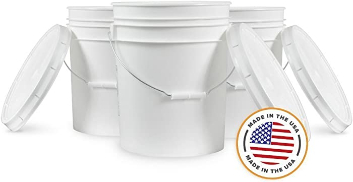 Top 8 Food Grade 5 Gallon Bucket With Lid