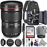 Canon EF 16-35mm f/2.8L III USM Lens w/Advanced Photo and Travel Bundle - Includes:...