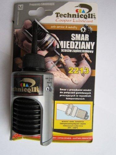 Technicqll 50 ml cobre grasa para montaje de bujías colector de escape Turbo Compresores, etc