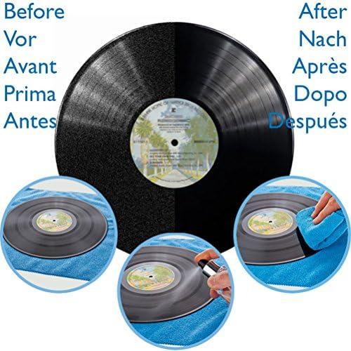 Solución profesional para discos de vinilo y LP. Kit de limpieza y ...