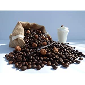 Caffè aromatizzato alla vaniglia e alla crema di nocciola, Caffettiera, 100 g