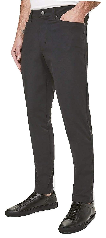 a72ef99f00 Lululemon Men's ABC Pant Classic Melanite Size 32 at Amazon Men's Clothing  store: