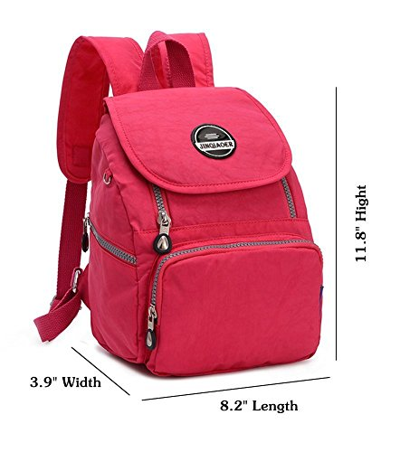 Mini Shoulderbag Womens Nylon Rucksack Red Girls Watermelon Echofun Casual for Bag Daypack Waterproof Travel Backpack nw5BUAH