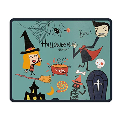 Halloween Mouse Pad - Portable Cloth Gaming Mouse Mat - Game on The Go ()