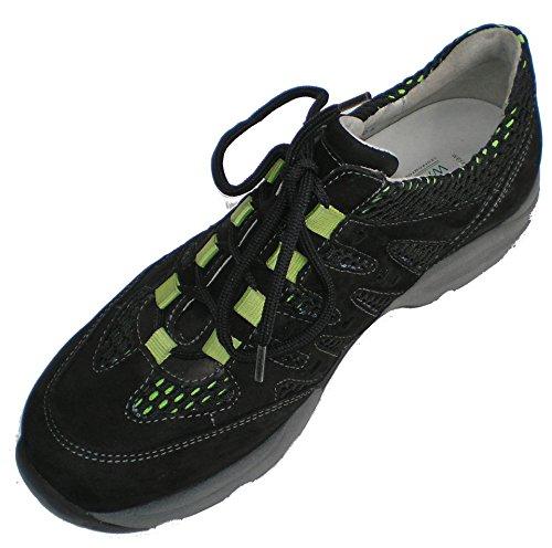 Waldläufer 200 Hanefa 192 368012 Sciolti Sneaker Donna Solette Per Nero qqUrTxwRv