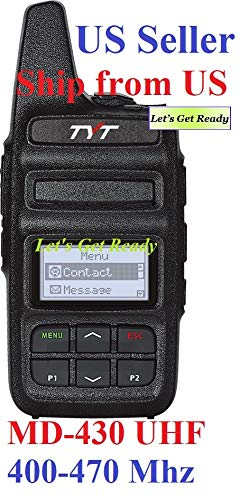 TYT MD-430 UHF 400-470 Mhz 2 Watts DMR/Analog Compact Two Way Radio Shipped from US only