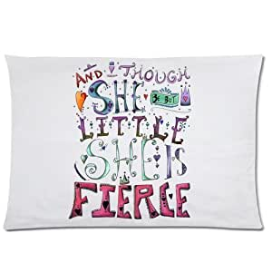 LarryToliver You deserve to have Plush cloth 20 X 30 inch pillowcase And Though She Be But Little She Is Fierce (2) best pillow cases(two sides)