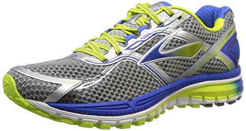 BrooksGhost 8 - Zapatillas de running hombre Blanco (Smokedpearl/ElectricBrooks/Limepunch 191)