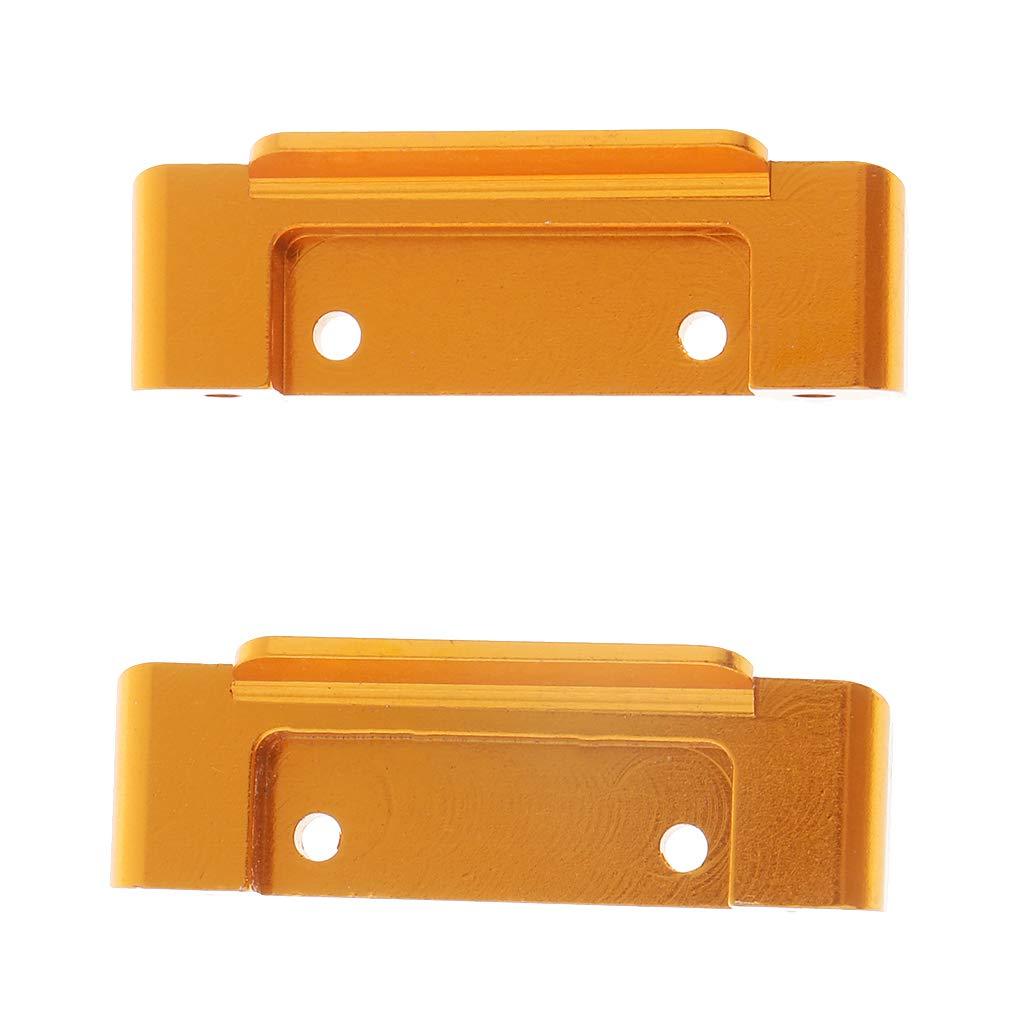 B Blesiya 1 Paar Front Rear Anti-Collision Sto/ßstangeUpgrade Parts Zubeh/ör f/ür 1//18 Wltoys A959-b A969-b A979-b RC Auto Golden