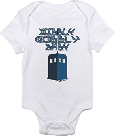 "T-Rex Apparel ""Wibbly Wobbly Baby Doctor Who"