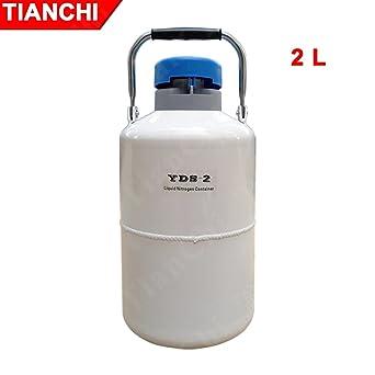 2L Contenedor de nitrógeno líquido 2l tanques de nitrógeno portatil tanques de nitrógeno precios