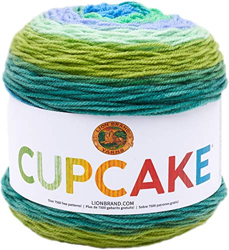 Lion Brand Yarn Cupcake Yarn, Forest Path