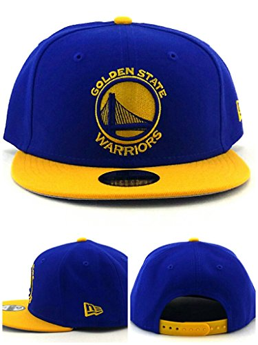 New Era Stock - New Era NBA Golden State Warriors Boys 9Fifty 2Tone Snapback Cap, One Size, Royal