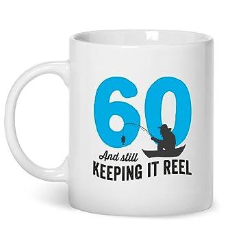 60 Geburtstag Angler Tasse Keeping It Reel Zum 60 Geburtstag