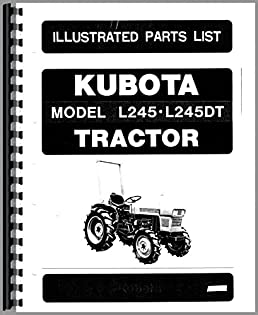 51xyeXvP7EL._SX258_BO1204203200_ kubota l245dt tractor parts manual kubota manuals 6301147725585