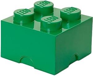 LEGO Dark Green Storage Brick 4 Children's Toy Box
