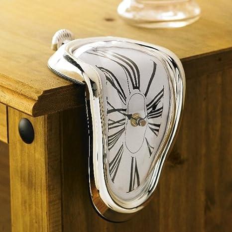 Fusión Reloj Efecto. La persistencia de la memoria, Salvador Dalí reloj Chic: Amazon.es: Hogar