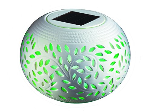 Vista Collection NY Ceramic Solar Table Light