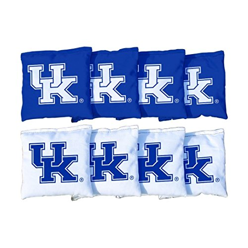 - Victory Tailgate 8 Kentucky UK Wildcats Regulation Cornhole Bags (corn filled)
