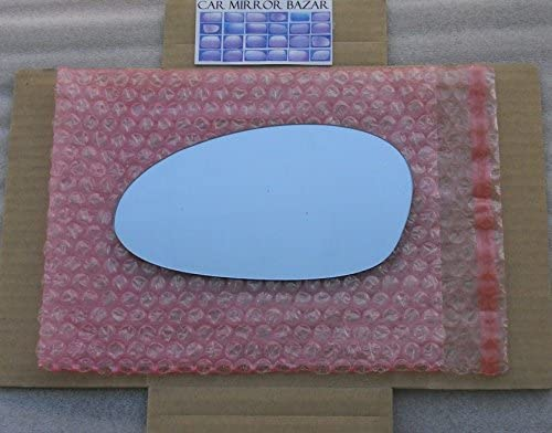 HEATED BLUE Mirror Glass with BACKING PLATE for BMW 1 3 Series M3 Z4 Driver Side View Left LH