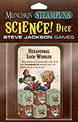 Munchkin Steampunk Science Dice Card Game