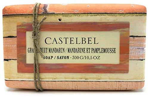 Castelbel Grapefruit Mandarin Moisturizing Soap 10.5 (Mandarin Moisturizing Cleanser)