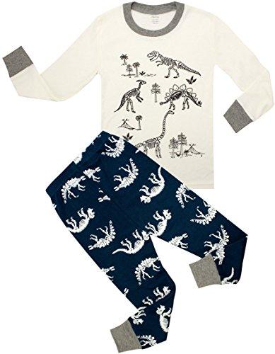 2e6bdfc657 shelry Children Pajamas Cotton Dinosaur Kids Clothes Boys Cartoon Sleepwear  Toddler Clothes. Tap to expand
