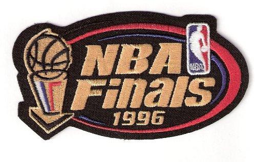 - 1996 NBA Finals Warm Up Jerseys Patch Chicago Bulls Seattle Super Sonics