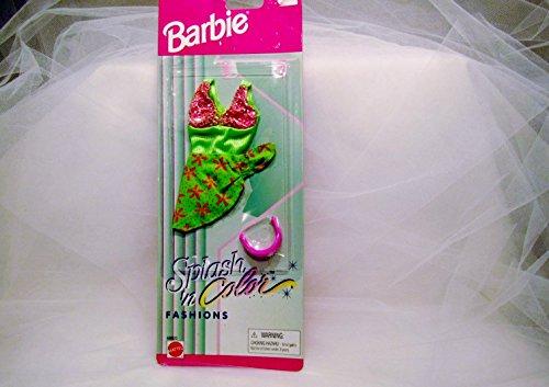 1996 Barbie Splash 'N Color Swimsuit