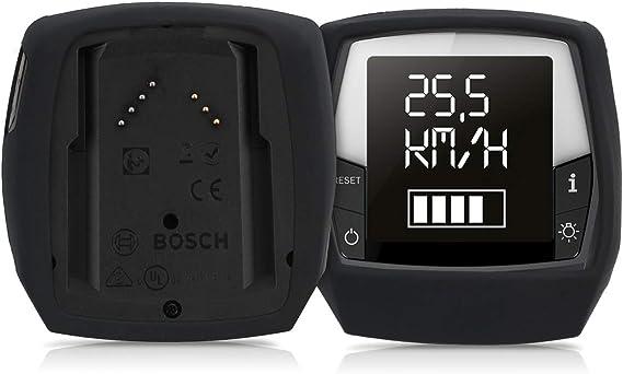Accessoire pour Bosch Intuvia Performance Line /Étui de Protection en Silicone pour Compteur V/élo /Électrique VAE kwmobile Housse E-Bike Computer