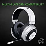 Razer Kraken 7.1 V2: 7.1 Surround Sound - Retractable Noise-Cancelling Mic - Lightweight Aluminum Frame - Gaming Headset Works with PC, PS4, Xbox One, Switch, Mobile Devices - Mercury