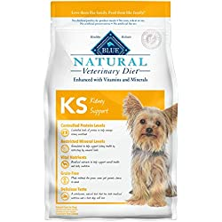 Blue Buffalo Natural Veterinary Diet Kidney Support for Dogs 6Lbs