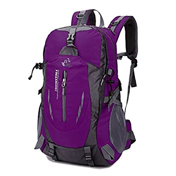 Amazon.com | 40L Waterproof Travel Backpack Camp Hike Mochilas Masculina Laptop Daypack Trekking Climb Back Bags | Backpacks