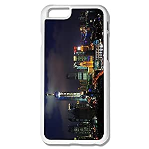 Hot Shanghai China Skyline Hard Case Cover For IPhone 6