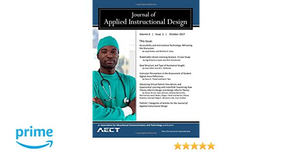 Journal Of Applied Instructional Design Volume 6 Issue1 Don G