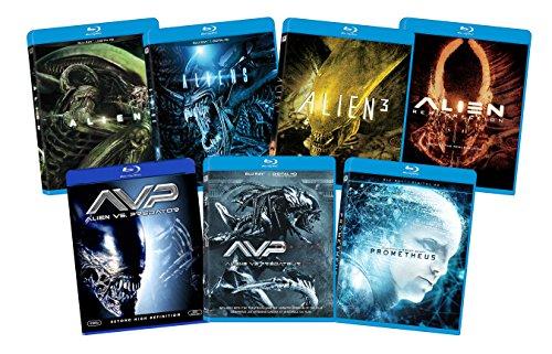 Avp Series - Alien 7-Film Franchise Blu-ray Bundle
