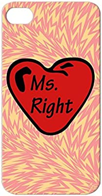 Amazon.com: TPU Ms Perfect Women Love Miss Right Ms Right ...