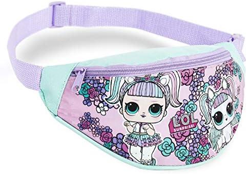 L.O.L Surprise! Bauchtasche, LOL Puppe Gürteltasche Kinder, Hüfttasche Ideal für Handy, Geldbörse und Schlüssel, Stylish Pink Design für Stilvolle Mädchen, Kleine Geschenke (Lila)