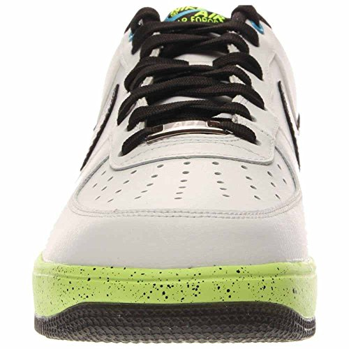 Nike Mens Lunar Kraft 1 Basketskor Vit / Varg Grå / Grön Vit / Varg Grå